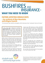 Bushfires and Insurance 2